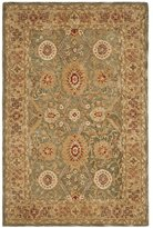 Safavieh Anatolia Collection AN516A Handmade and Ivory Wool Area Rug, 4 feet by 6 feet