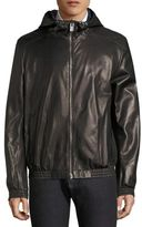 Bally Leather Blouson Jacket