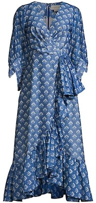 Sachin + Babi Rae Printed Wrap Dress
