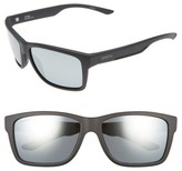 Smith Optics Men's 'Drake' 61Mm Polarized Sunglasses - Black