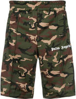Palm Angels camouflage print track shorts