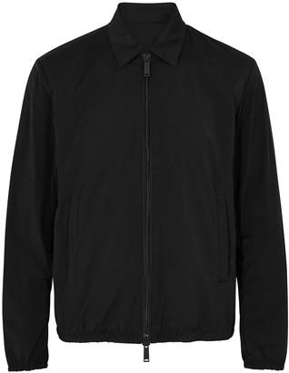 DSQUARED2 Black printed nylon jacket