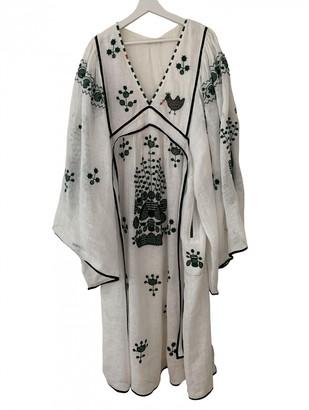 Vita Kin White Linen Dresses