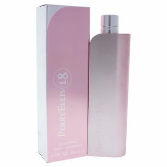 Perry Ellis 18 By For Women Eau De Parfum Spray 3.4-Ounce Bottle