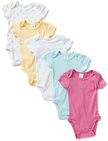 Starting Out Baby Girls Newborn-6 Months 5-Pack Crown Bodysuits