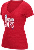 adidas Women's Philadelphia 76ers Stretched Type T-Shirt