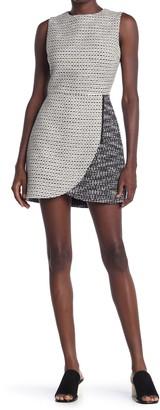 Alice + Olivia Sally Side Zip Mini Dress