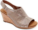 Rockport Women's Briah Perforated Slingback Wedges Women's Shoes
