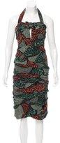 Burberry Silk Halter Dress