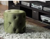 Ave Six Spring Green Accent Ottoman