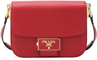 Prada Embleme Crossbody Bag