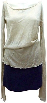 Gucci Gold Silk Knitwear for Women Vintage