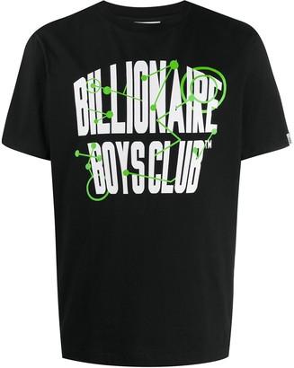 Billionaire Boys Club network logo print T-shirt