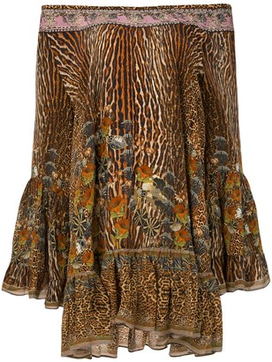 Camilla Wild Azal frill dress