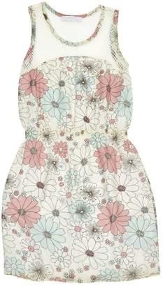 Kristina Ti White Silk Dresses