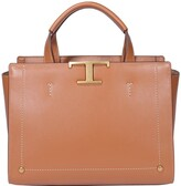 Thumbnail for your product : Tod's Signature Logo Plaque Medium Tote Bag