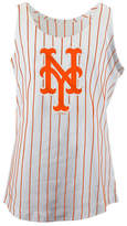 5th & Ocean New York Mets Pinstripe Tank, Girls (4-16)