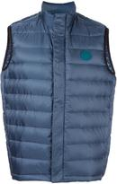 Paul Smith zip up quilted vest