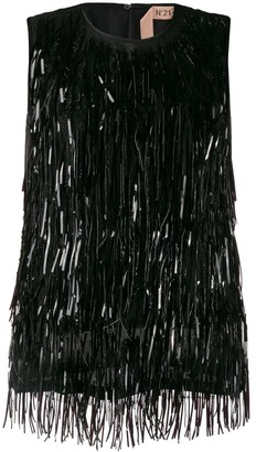 No.21 Beaded Fringes Top