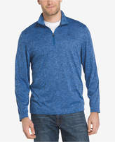 Izod Men's Advantage Performance Stretch Quarter-Zip Sweater Knit