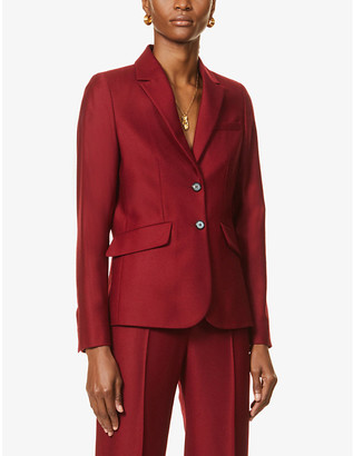 Victoria Victoria Beckham Single-breasted wool-twill blazer