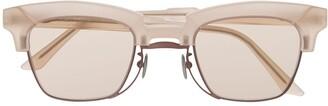 Kuboraum Tinted-Lens Wayfarer Sunglasses