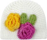niceEshop(TM) Infant Baby Handmade Knit Crochet Flowers Stretch Hat Cap