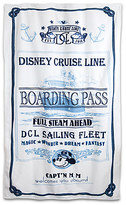 Disney Captain Mickey Mouse Beach Towel Cruise Line