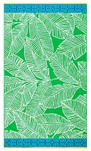 Sky Cotton Tropical Leaf Beach Towel - 100% Exclusive