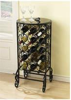 Alcott Hill Fox 15 Bottle Floor Wine Rack