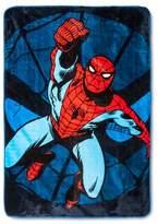 Marvel Spider-Man® Jump Kick Bed Blanket Twin Blue - Spider-Man®