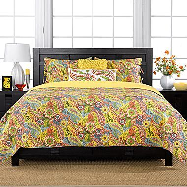 JCPenney Colonial Floral Paisley Quilt Set & Accessories