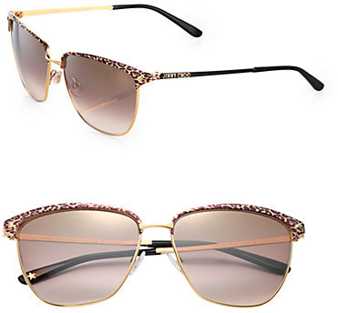 Jimmy Choo Laura Metal Sunglasses