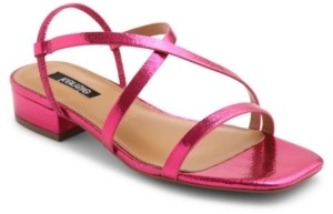 Kensie Women's Conley Block Kitten Heel Sandal Women's Shoes