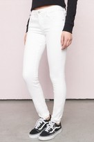 Garage Cotton White High Waist Jegging