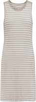 Current/Elliott The Louella striped cotton mini dress