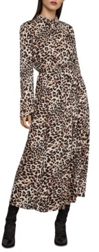 BCBGMAXAZRIA Leopard-Print Dress