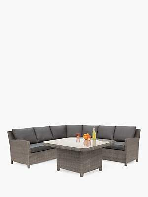 Kettler Palma Grande 6-Seat Garden Corner Sofa and Table Set