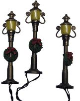 Kurt Adler Battery-Operated Antique Colonial Street Lamp Set