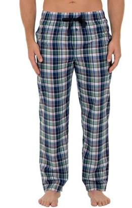 Fruit of the Loom Big & Tall Men's Microsanded Woven Plaid Pajama Pant