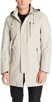 Nautica Men's Newport Raincoat with Zip-Out Liner