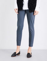 St. John Tapered stretch-cotton trousers