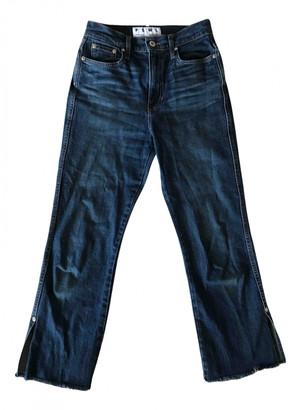 Proenza Schouler Blue Cotton Jeans