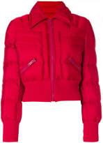 Prada zip puffer jacket