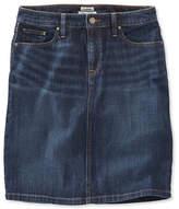 L.L. Bean 1912 Jean Skirt