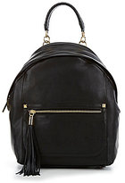 Antonio Melani Chic Commuter Tasseled Backpack