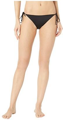 O'Neill Saltwater Solids Side Tie Pant Bottoms (Black) Women's Swimwear