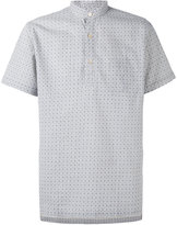 Lardini printed short sleeve shirt - men - Cotton/Linen/Flax - 38