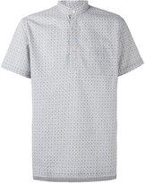 Lardini printed short sleeve shirt - men - Cotton/Linen/Flax - 39