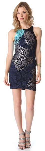 Cynthia Rowley Fitted Tank Dress